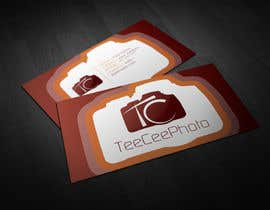 #123 for Photographer logo, namecard by SerMigo