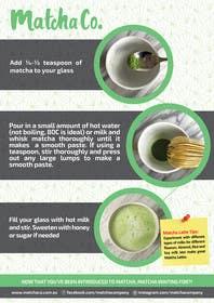 Nro 5 kilpailuun Design TWO how-to flyers for making japanese tea käyttäjältä xpertsart