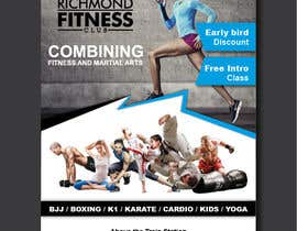 #47 for Design a Flyer for New Martial Arts Gym af chirangasandeepa
