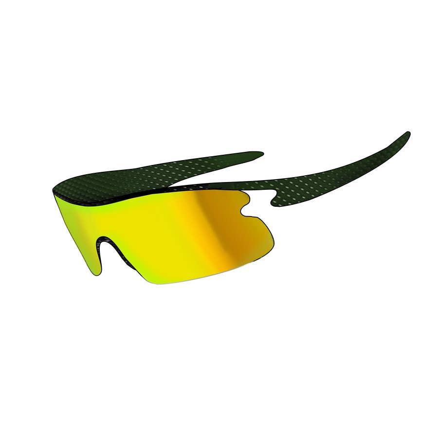 Konkurrenceindlæg #22 for Design some modern,very lightweight sports sunglasses (cycling, triathlon, running)