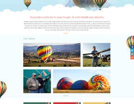 #2 cho Hot Air Balloon ride business Web Site Mockup bởi suryabeniwal