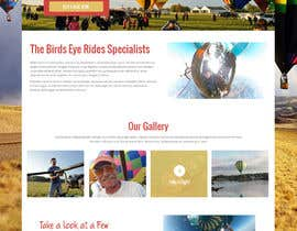 #11 cho Hot Air Balloon ride business Web Site Mockup bởi syrwebdevelopmen