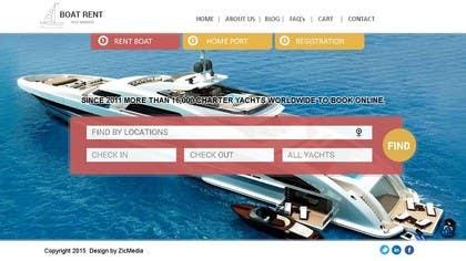 #8 untuk Design a UX/UI Mockup for Yacht Charter Comparison Site oleh zicmedia