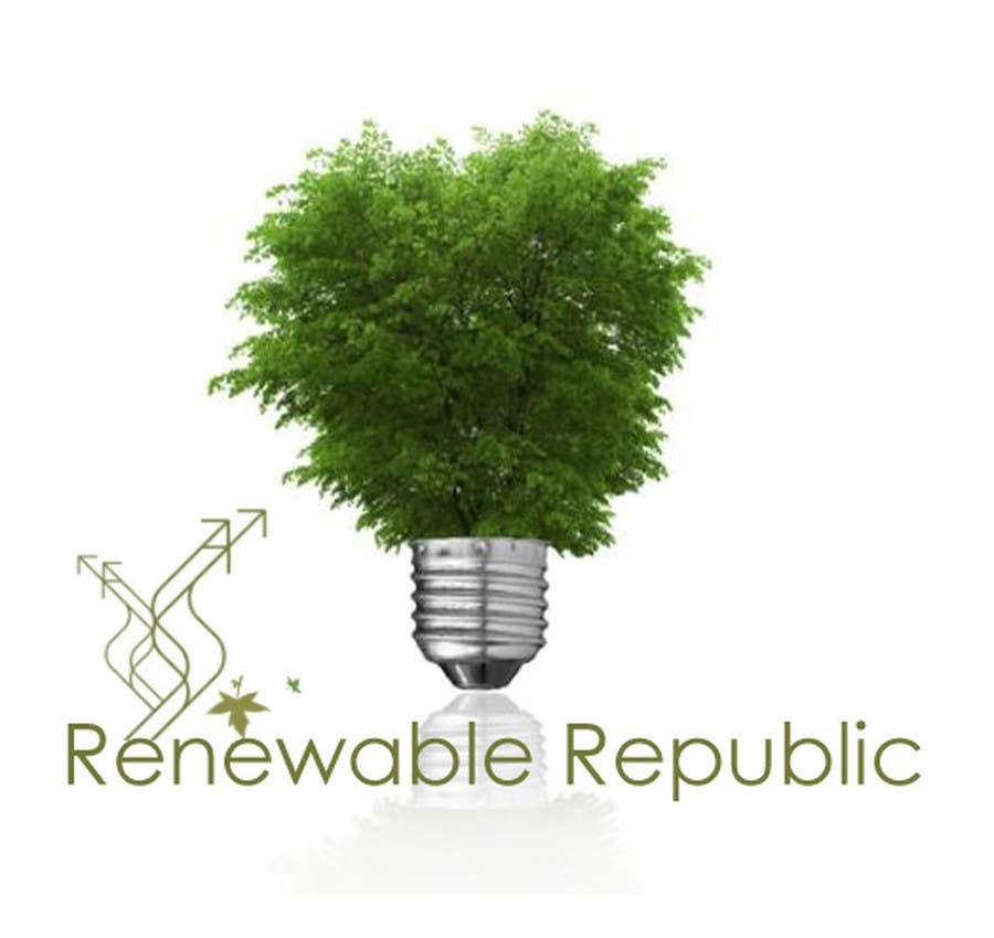 Participación en el concurso Nro.32 para Logo Design for The Renewable Republic