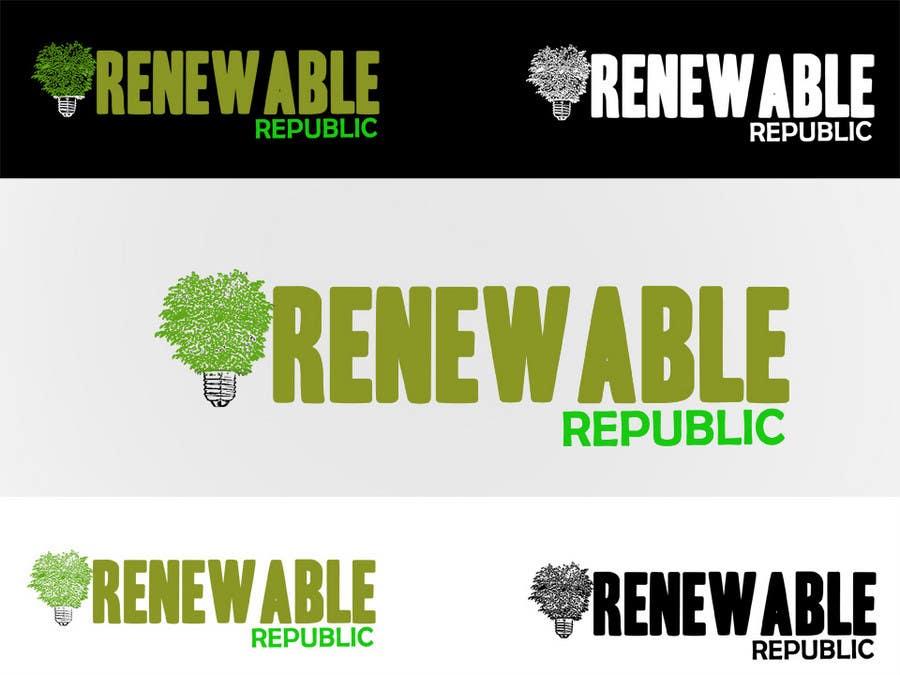 Participación en el concurso Nro.78 para Logo Design for The Renewable Republic