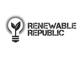 #71 para Logo Design for The Renewable Republic de jonWilliams74