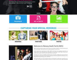 #9 for Design a Website Mockup for Memory Booth Company by princevenkat