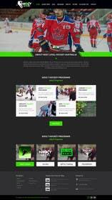 #23 cho Design a Website Mockup for NextLevelHockey bởi kreativeminds