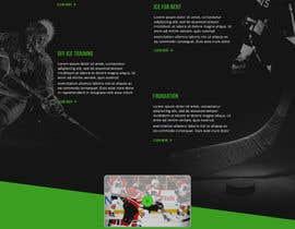 #7 for Design a Website Mockup for NextLevelHockey af ervanfahren
