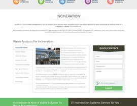 #27 cho Design a Website Mockup for Incinerator Company bởi massoftware