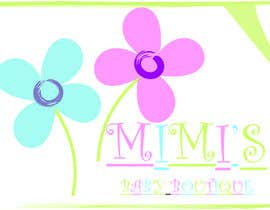 #23 cho Design a Logo for 'Mimi's baby boutique' bởi krikiniani