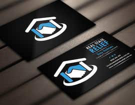 Derard tarafından Design some Business Cards for Real Estate Relief için no 116