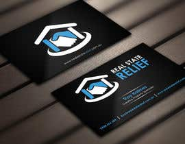#120 untuk Design some Business Cards for Real Estate Relief oleh Derard