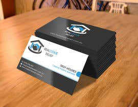 #126 untuk Design some Business Cards for Real Estate Relief oleh flechero