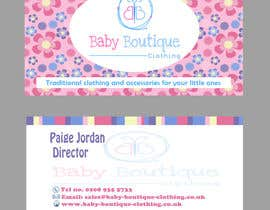sarahradwan tarafından Design some Business Cards for Baby Boutique için no 36