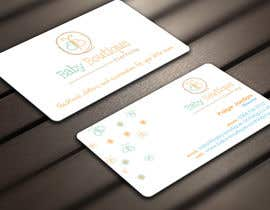 #18 untuk Design some Business Cards for Baby Boutique oleh Derard