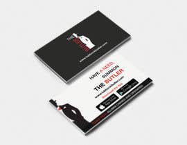 #21 untuk Design some Business Cards for The Butler oleh apoorvmehta