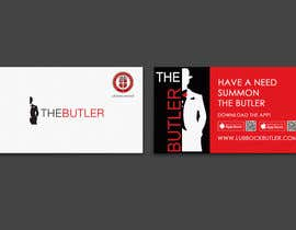 #13 untuk Design some Business Cards for The Butler oleh einsanimation