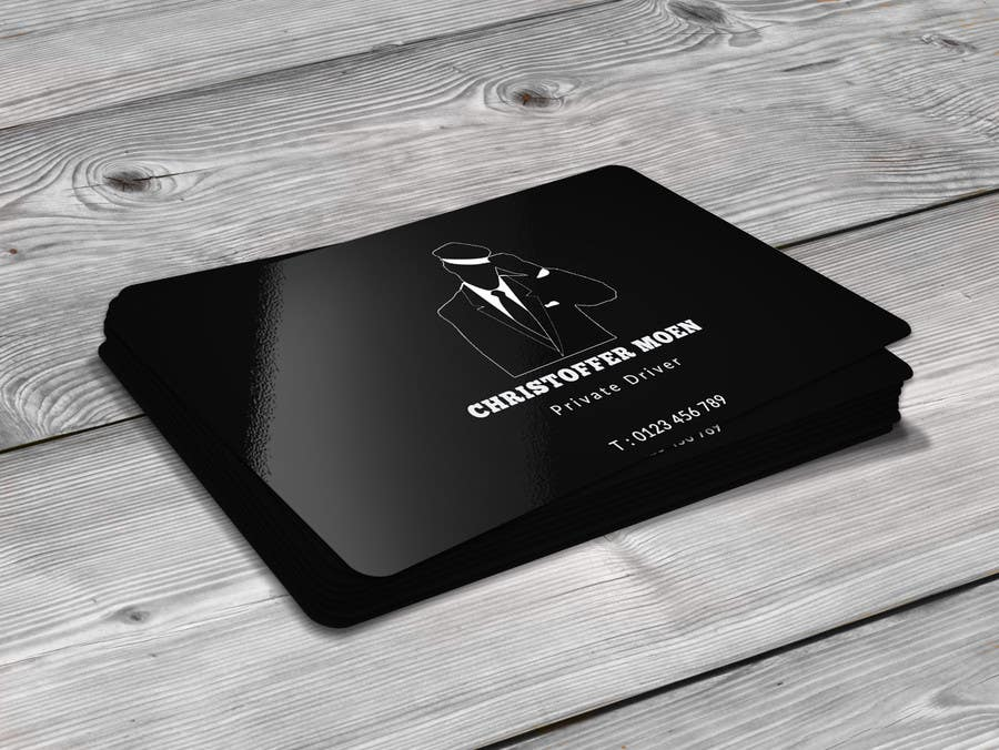 Konkurrenceindlæg #12 for Business Card - Private Driver