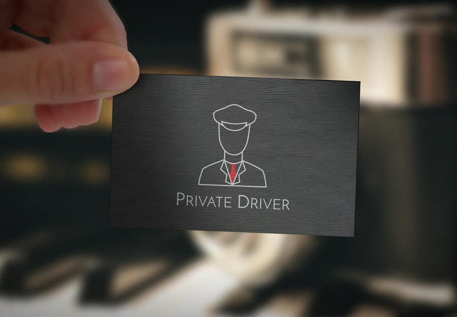 Entry 4 By Glezsote For Business Card Private Driver Freelancer