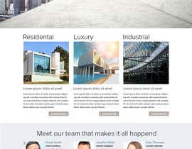 Nro 5 kilpailuun vevey architecte web template käyttäjältä yoyojorjor