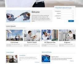 Nro 4 kilpailuun vevey architecte web template käyttäjältä lassoarts