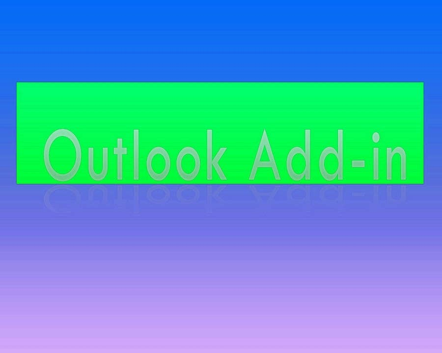 Inscrição nº                                         8                                      do Concurso para                                         Outlook Add-in