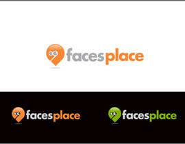 #140 para Design a Logo for facesplace por rueldecastro