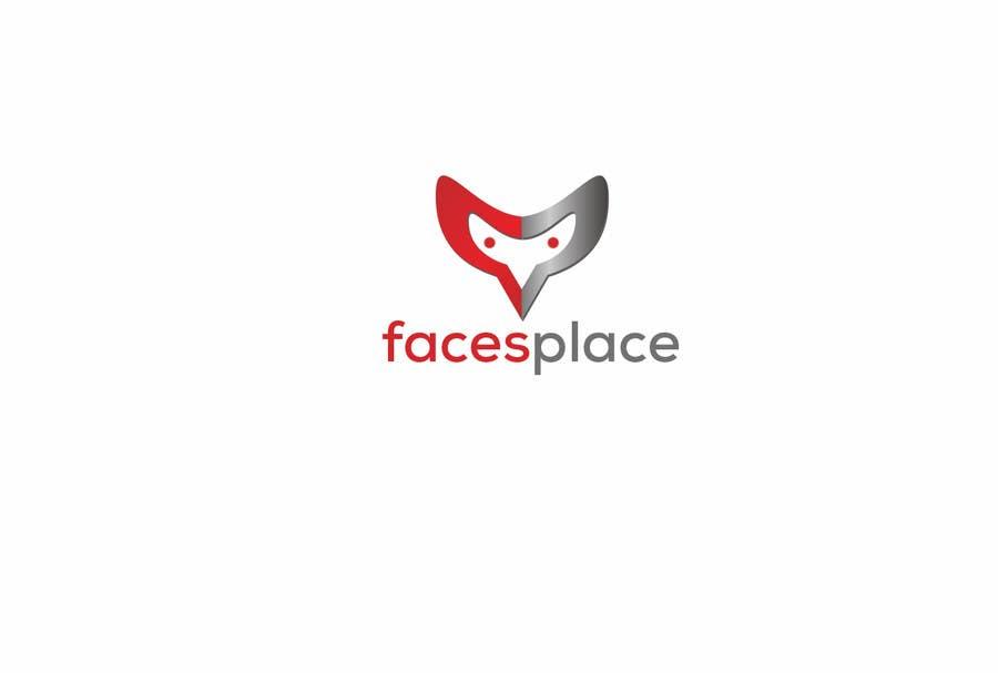 Kilpailutyö #192 kilpailussa Design a Logo for facesplace