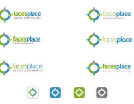 #116 for Design a Logo for facesplace af commharm