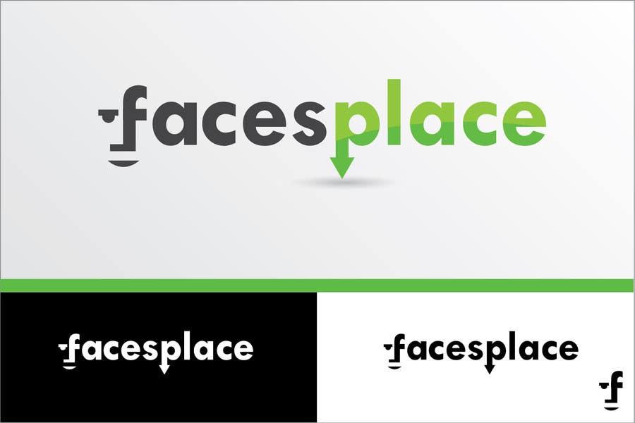 Kilpailutyö #124 kilpailussa Design a Logo for facesplace