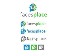 #119 para Design a Logo for facesplace por krizzykreme