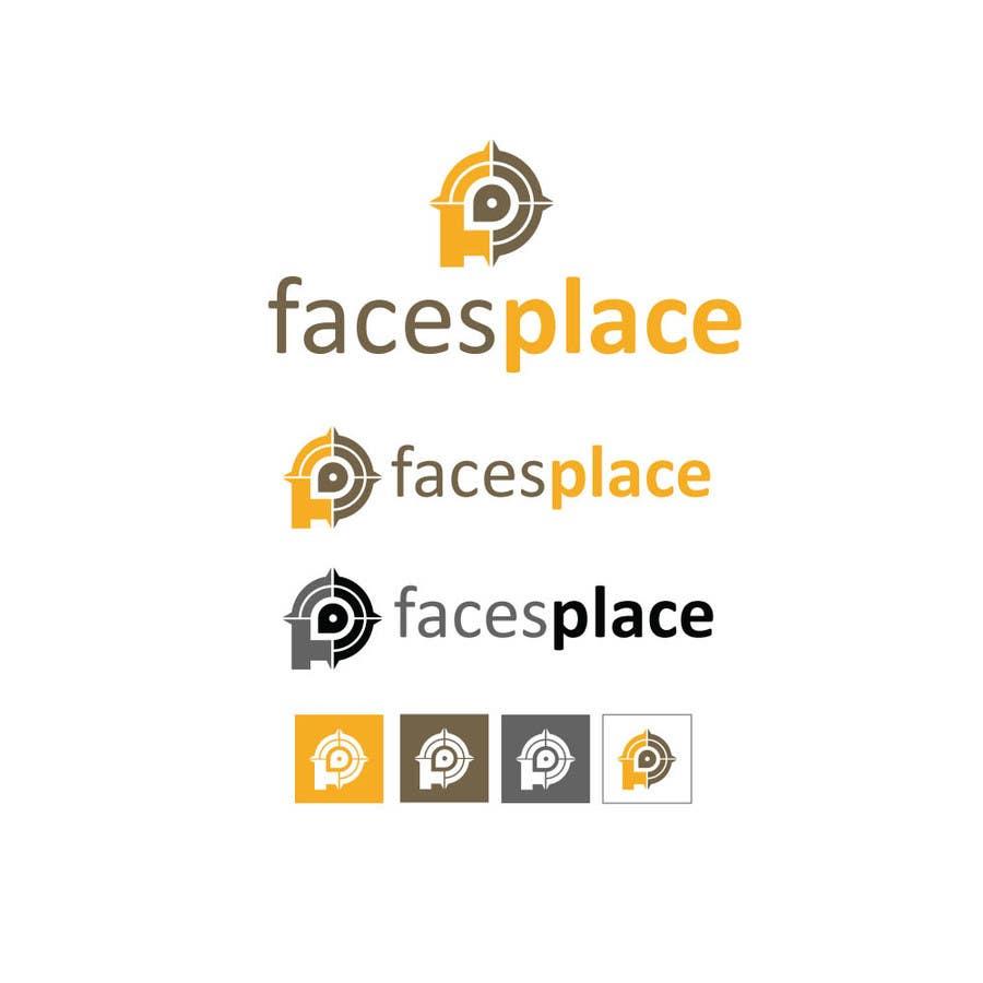 Kilpailutyö #120 kilpailussa Design a Logo for facesplace