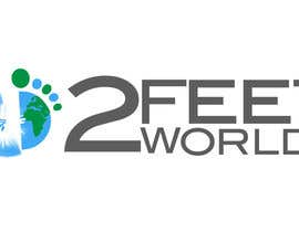 nº 63 pour Design a Logo for 2 Feet 2 Worlds par LucianCreative