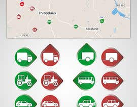 #59 for GPS Fleet Management Map Icons af vw7316090vw