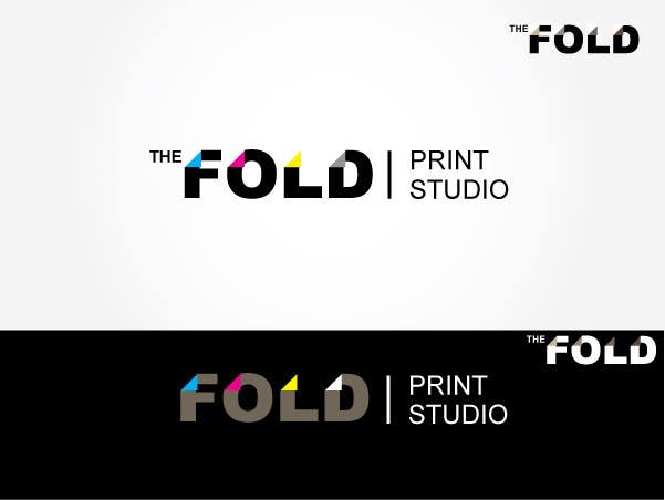 #142 for Design a Logo for The Fold (a Print Studio) by BobbyFermin