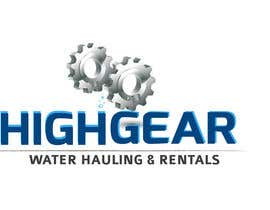 #40 for Redesign/revisualization of the current Logo for High Gear Water Hauling & Rentals af creaturethehero