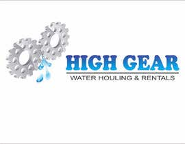 #41 para Redesign/revisualization of the current Logo for High Gear Water Hauling & Rentals por akhileshgoud06