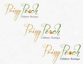 #50 for Design a Logo for Prissy Peach Childrens Boutique af sunnnyy