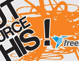 "nº 72 pour Logo Design for Want a sticker designed for Freelancer.com ""Outsource this!"" par WinchesterLyon"