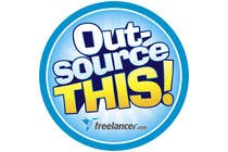 "Entry # 239 for Logo Design for Want a sticker designed for Freelancer.com ""Outsource this!"" by"