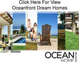 #58 for Design a Banner for Ocean Home Magazine online. www.oceanhomemag.com by pureprofession