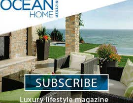 #41 for Design a Banner for Ocean Home Magazine online. www.oceanhomemag.com af madarasdaniel