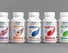 #14 untuk Create Print and Packaging Designs for Supplement Products oleh midget