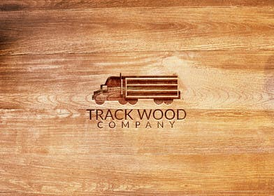 #63 cho Design a Logo for Track-Wood Company bởi shanzaedesigns