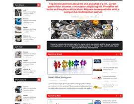 #6 untuk Design a Website Mockup for an auto parts wesbite oleh mahiweb123