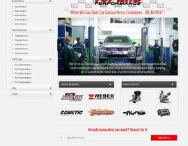 #10 untuk Design a Website Mockup for an auto parts wesbite oleh Hardiq108