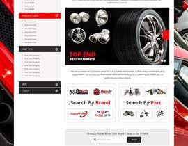 #17 untuk Design a Website Mockup for an auto parts wesbite oleh syrwebdevelopmen