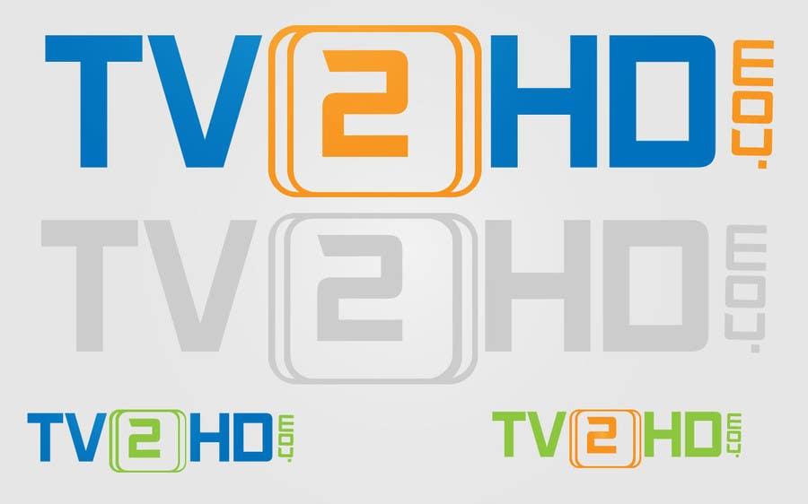 Contest Entry #20 for Design a Logo for my tv2hd.com