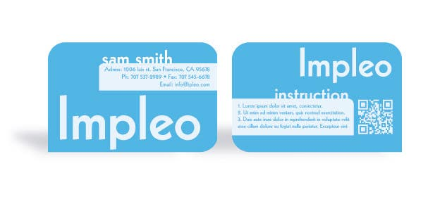 Contest Entry #                                        30                                      for                                         Business Card Design for Impleo